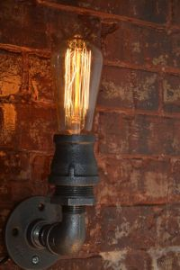 Industrial+Steampunk+Wall+Sconce+by+WestNinthVintage+on ...