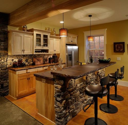 Medium Of Country Style Kitchen Island