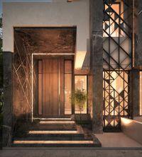 main entrance , private villa, Kuwait , 500 m | sarah ...