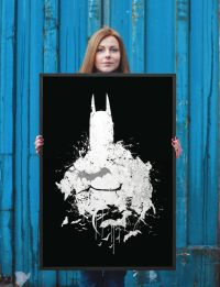 Batman Watercolor Print, Avengers print, comic artwork ...