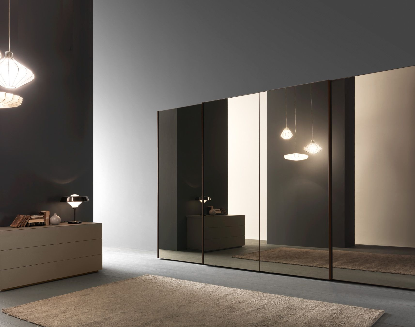 specchio sliding door wardrobe