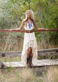 Western Bridesmaid Dresses on Pinterest | Western Wedding ...
