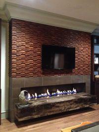 fireplace surround design ideas | Spark Modern Gas ...