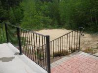 hand rail for outdoor steps - Google Search | outdoor hand ...
