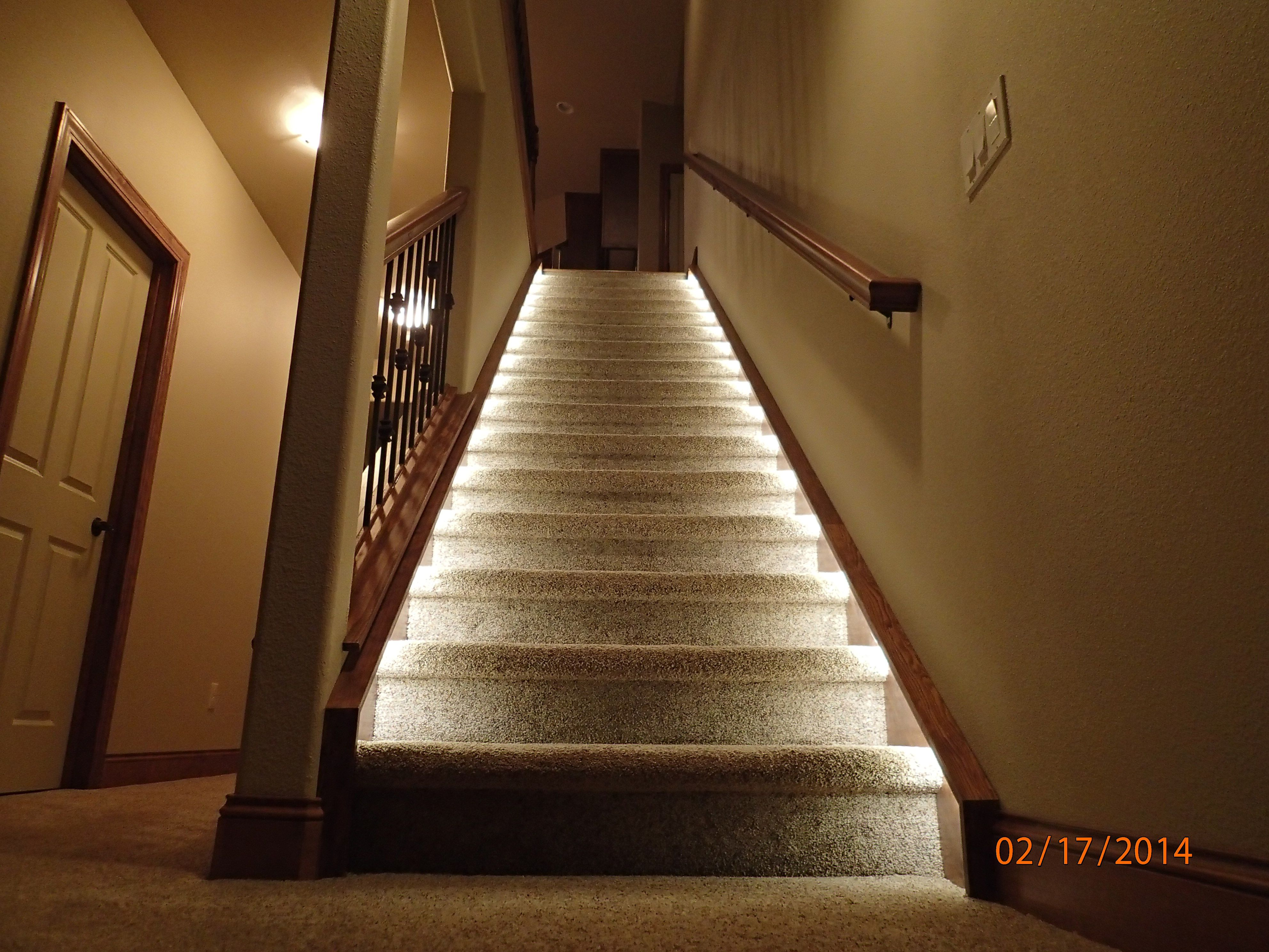 Lighting For The Home Illuminate The Staircase Leading To