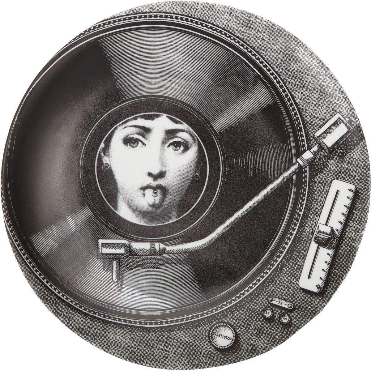 Fornasetti Fornasetti Theme Variations Plate 370 At Barneys
