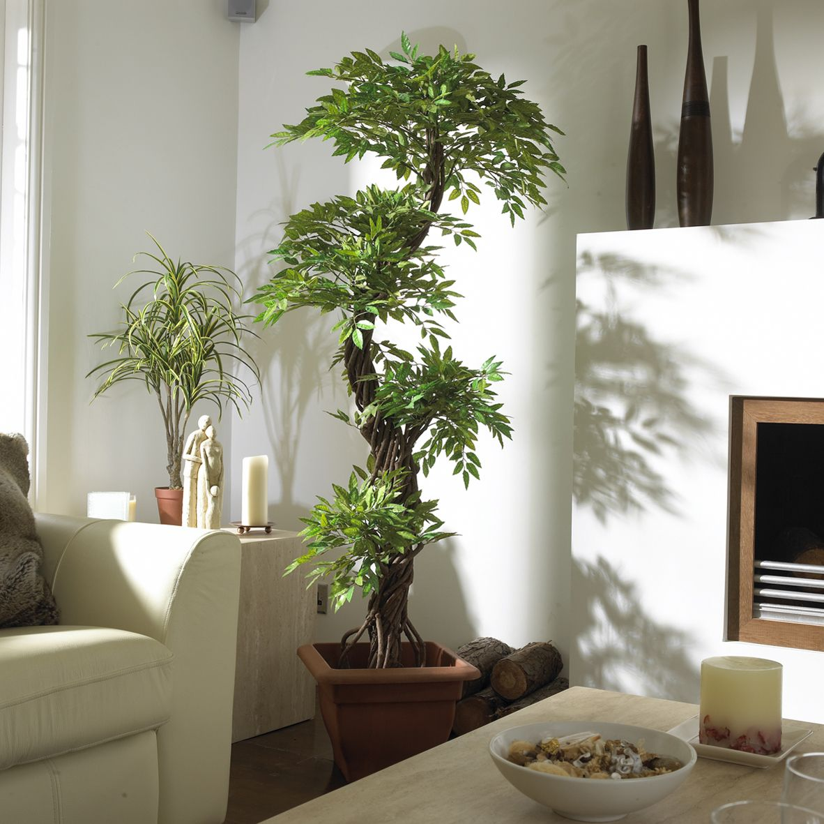 Plants Home Decor Japanese Fruticosa Artificial Tree Looks Amazing In Any