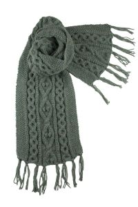 Cable Knit Scarf Patterns | My Crochet | Bricolaje y ...