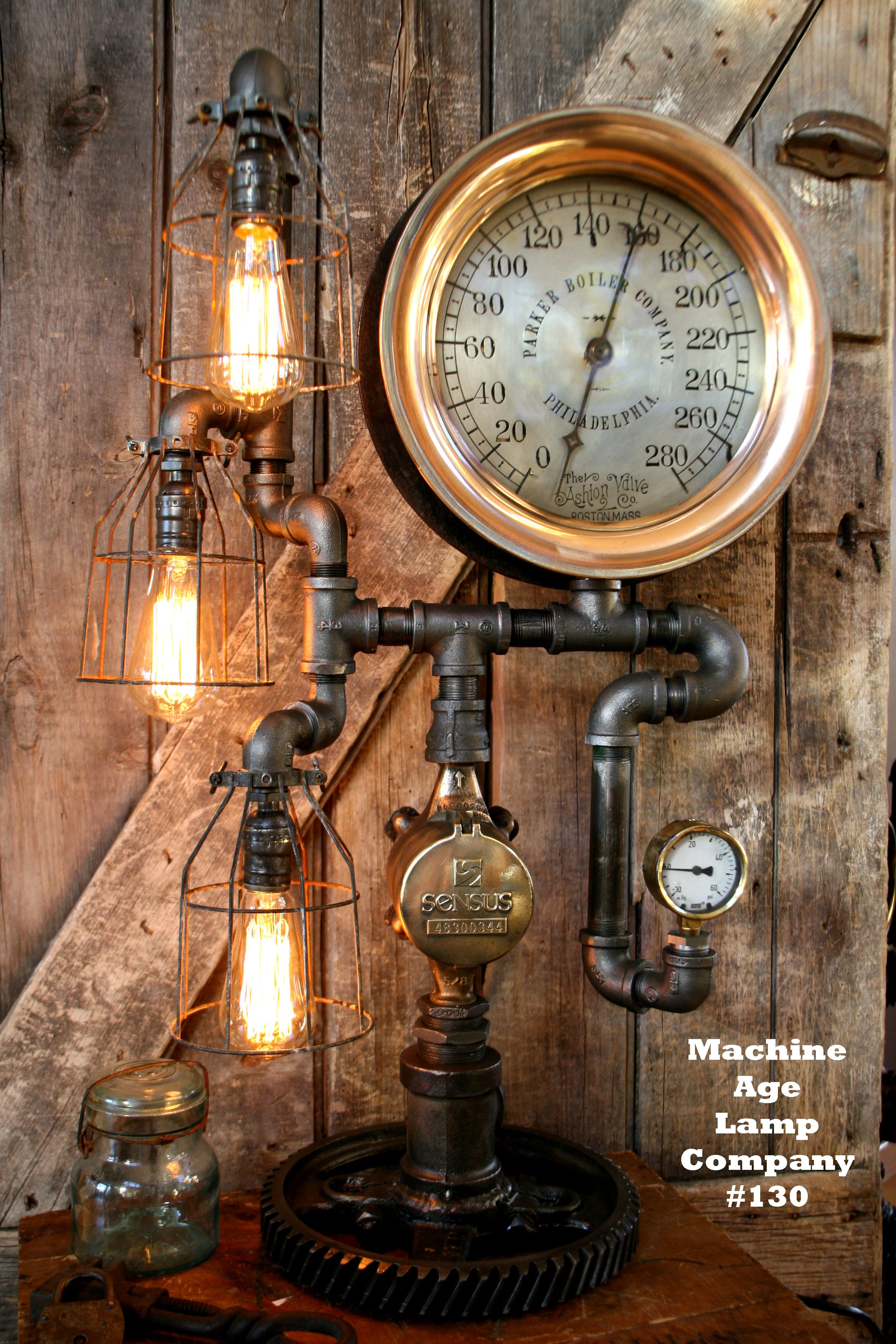 Steampunk art c utare google steampunk clockindustrial lampsmachine