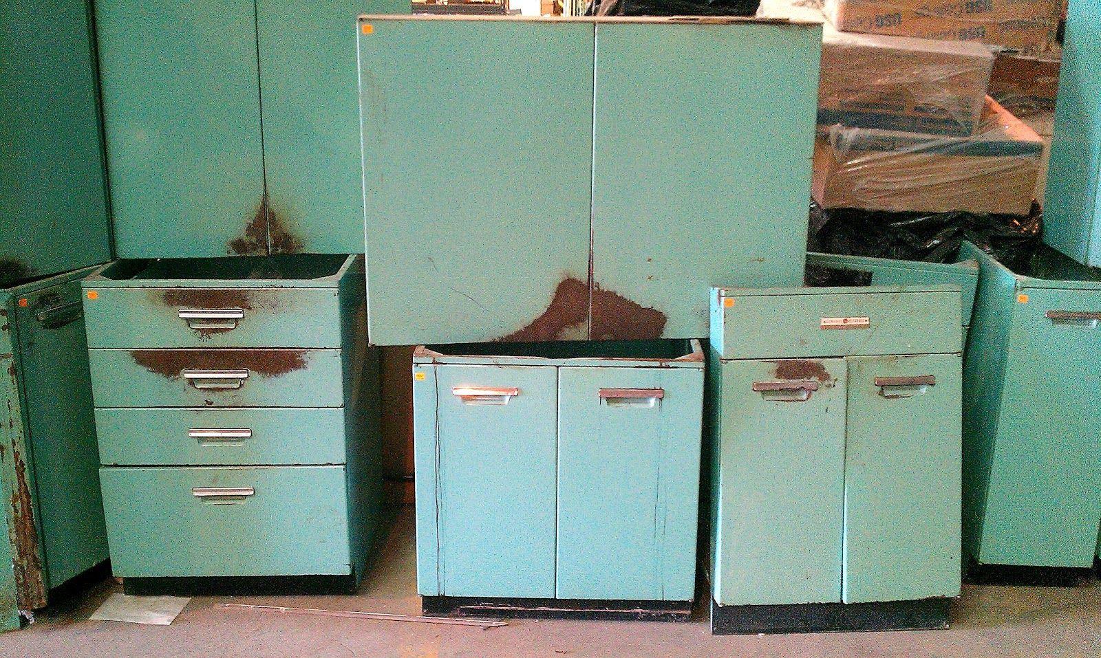 Kitchen Cool Vintage General Electric Metal Kitchen