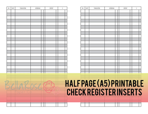 printable check ledger