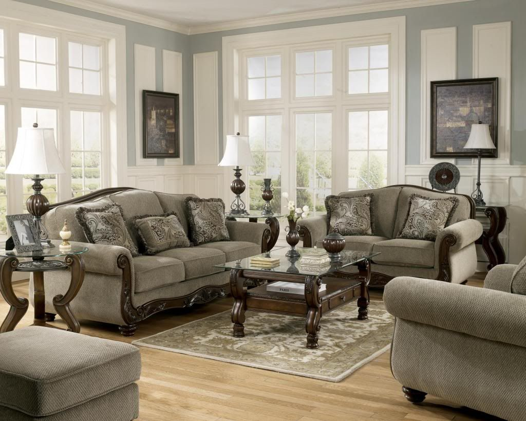 Sofa Set For Sale Ebay Details About Martinsburg Ashley Traditional Sofa Love