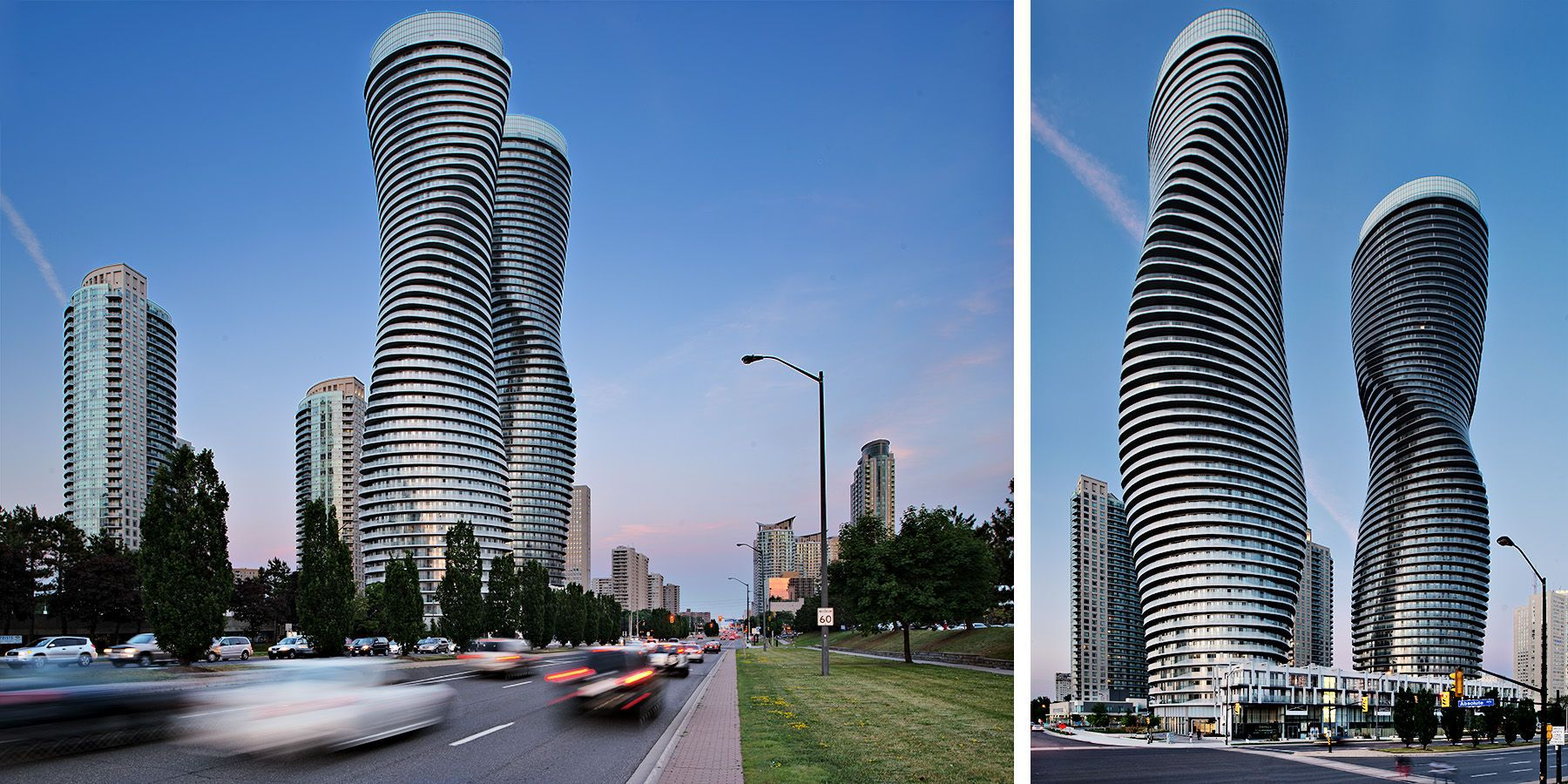 Monroe Canada Absolute Towers Aka Marilyn Monroe Towers By Mad