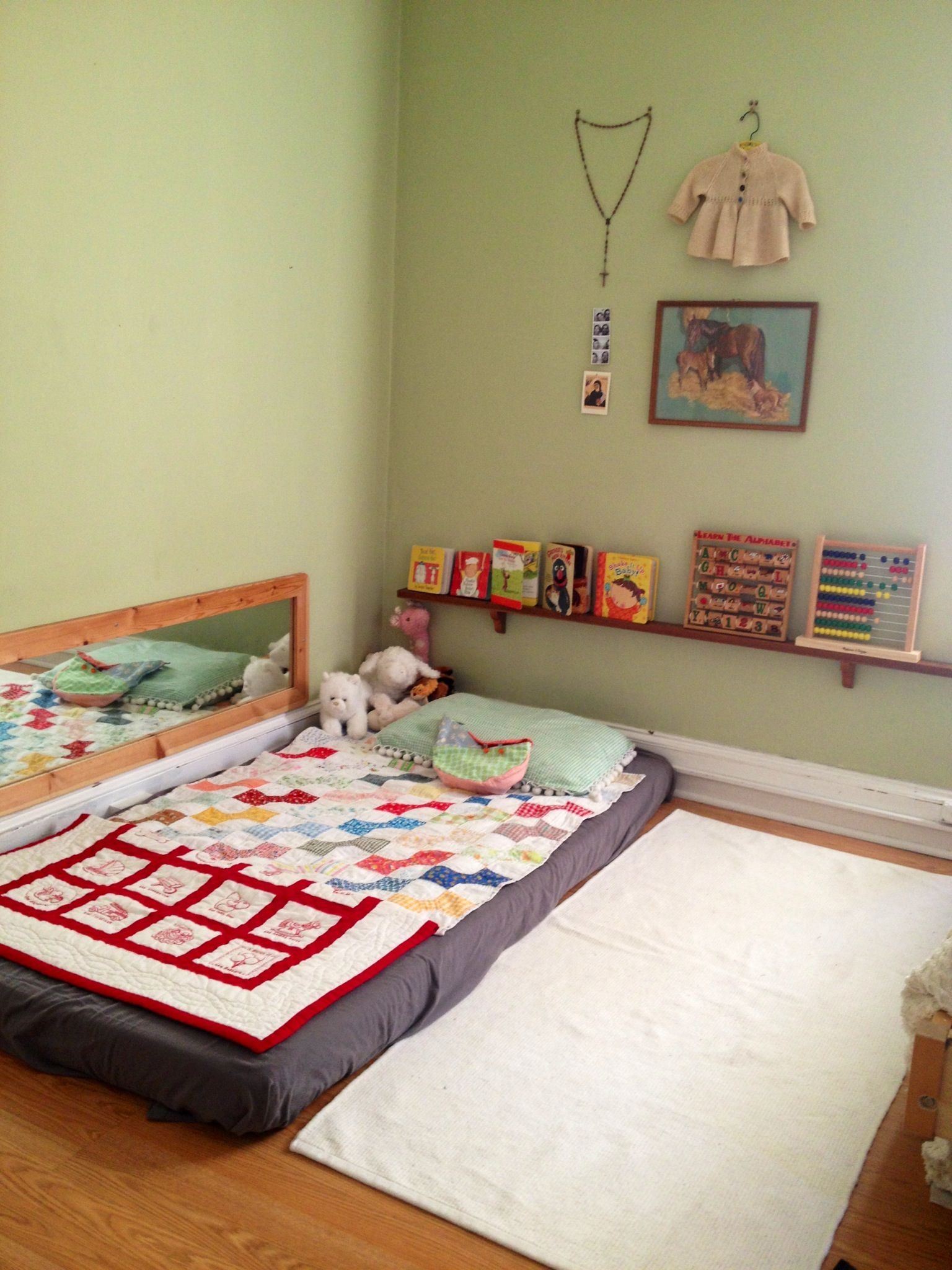On Floor Beds Montessori Floor Bed I Think I Will Do This When My