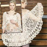 Free Irish Crochet Shawl Instructions | CROCHETED SHAWL ...