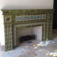 Craftsman ~ Rookwood fireplace | Craftsman Style ...