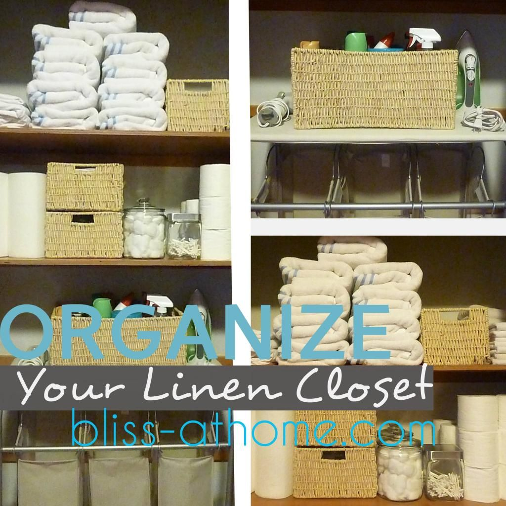 Diy Linen Closet Tips For Organizing Your Linen Closet And Keeping It That