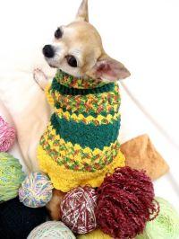 DIY Crochet Pineapple Dog Costume | CROCHET - MASCOTAS ...