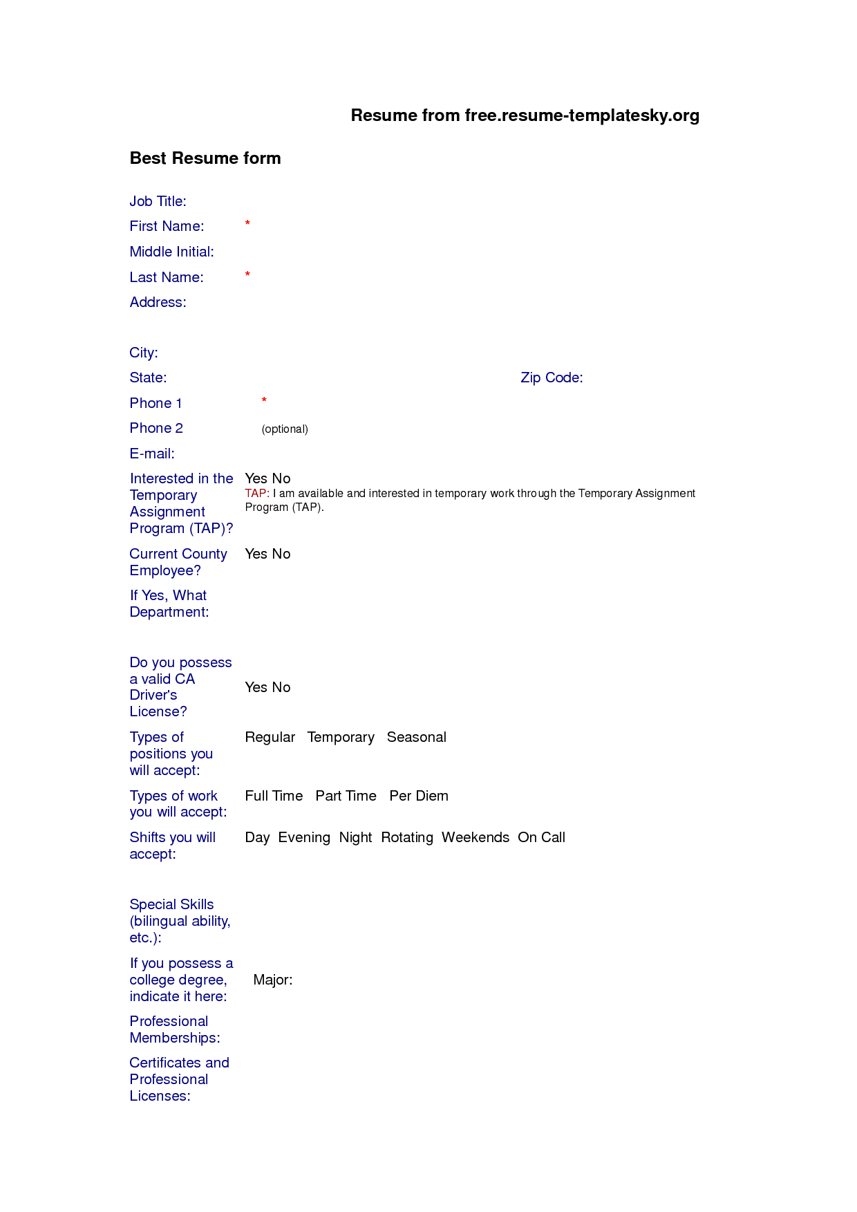 basic biodata format for job resume templates basic biodata format for job biodata resume format and 6 template samples hloom biodata