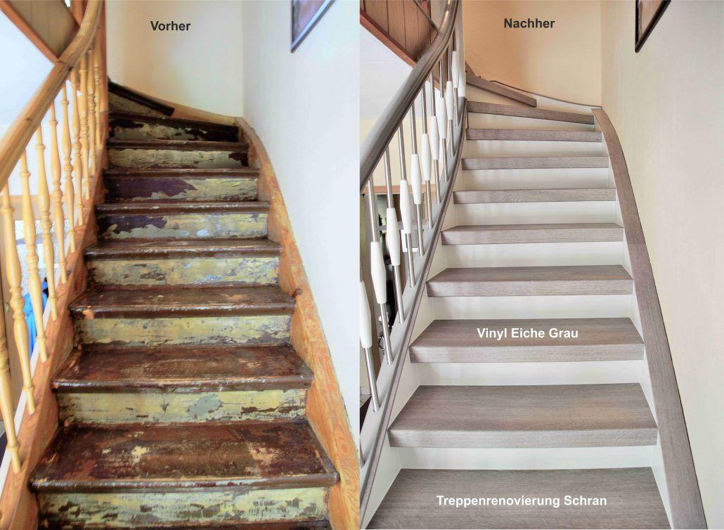 Die Besten 25+ Holztreppe Renovieren Ideen Auf Pinterest   Treppenhaus  Gestalten Altbau