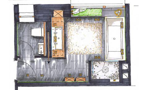 Die besten 25+ Grundriss badezimmer 6 qm Ideen auf Pinterest - badezimmer grundriss