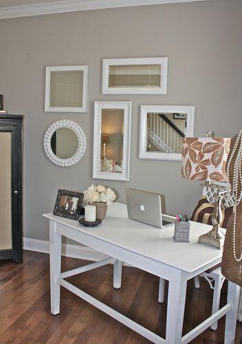 sw mindful gray - entry, halls, living room, dining room Paint - mindful gray living room