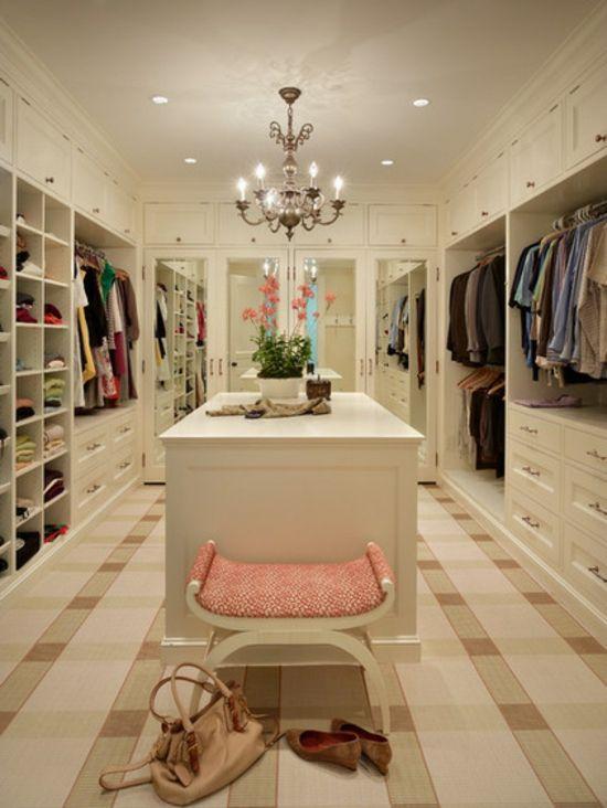 Ankleidezimmer Ideen - Planen Sie einen begehbaren Kleiderschrank - ankleidezimmer