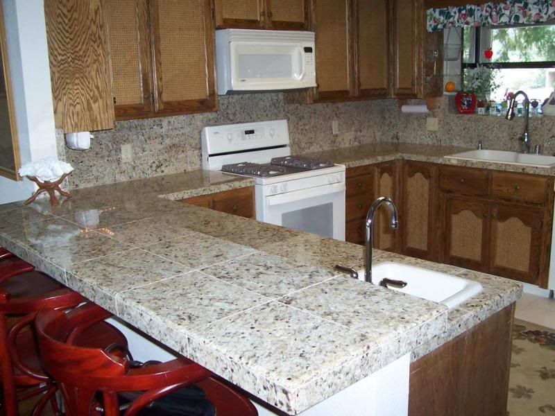 1000+ Ideas About Granite Tile Countertops On Pinterest | Tile