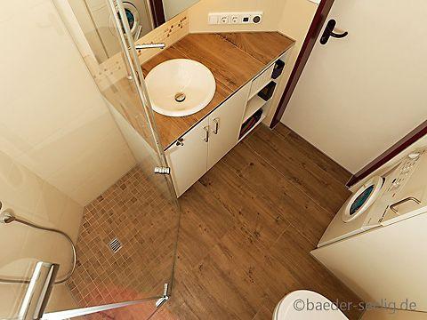 Badezimmer mit Mosaik gestalten Badideen für kleine Bäder Tiny - badideen fur kleine bader