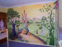 murals for walls | kids room murals kids room castle wall ...