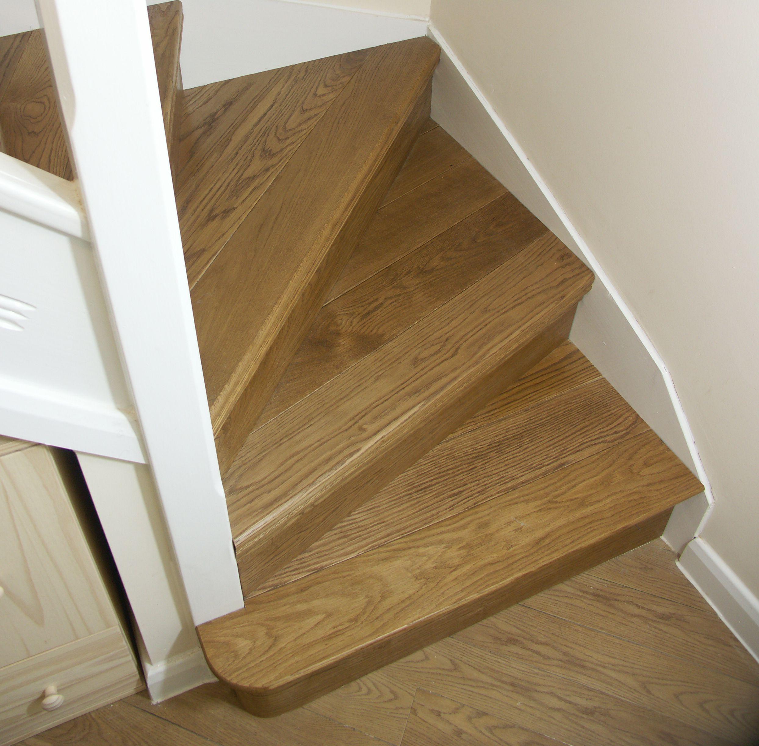 Oak Stair Cladding Oak Kyte Winder Flight Oak Bullnose