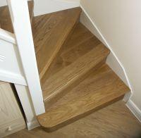 Oak Stair Cladding | Oak Kyte Winder Flight | Oak Bullnose ...