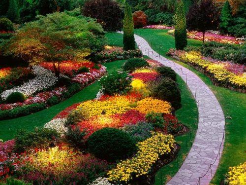 Schöner Garten elegant fußweg stein landscape Pinterest - schoner garten bilder