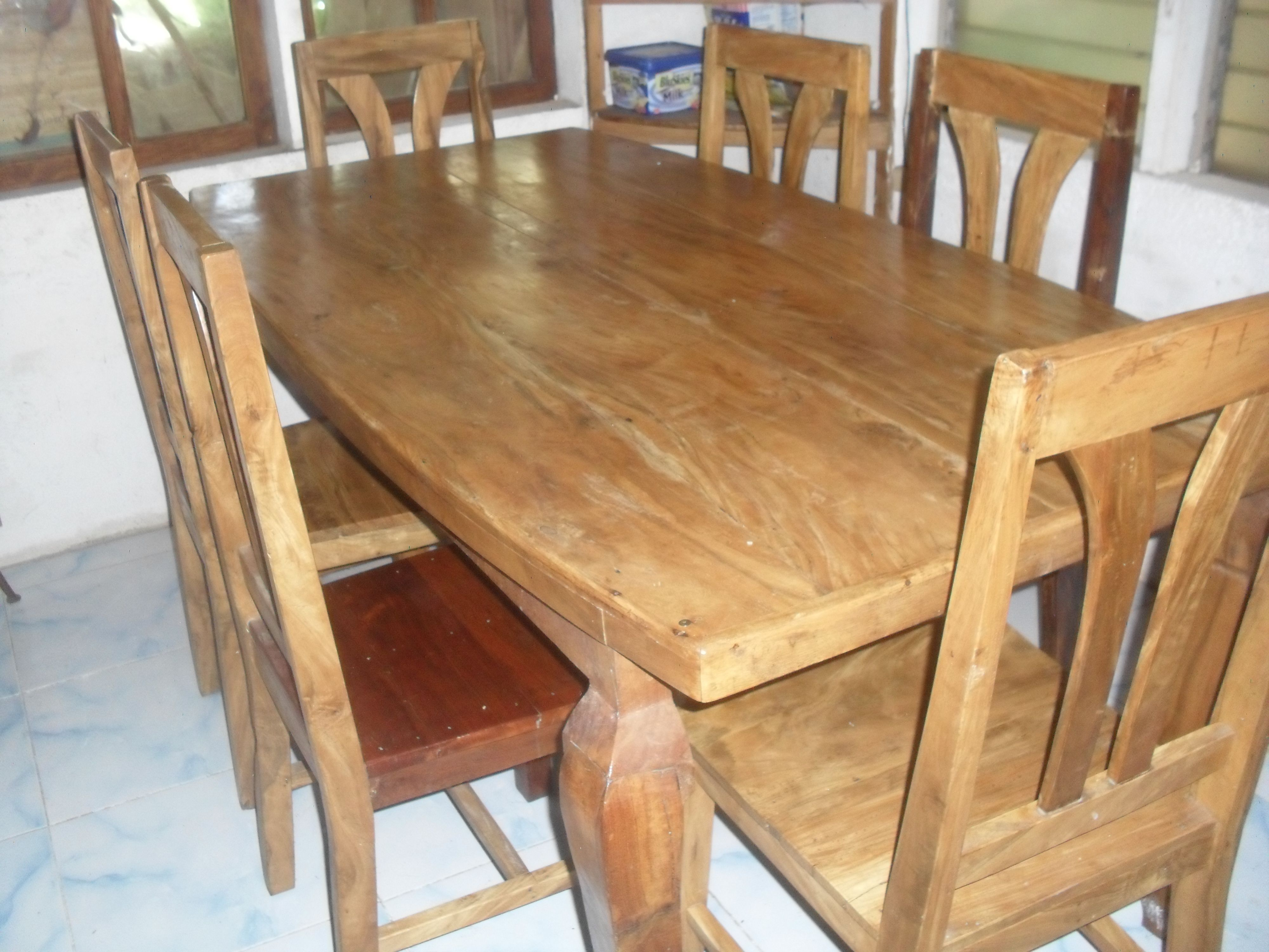 Sala Set Wood Price Philippines Gings Six Seater Tugas Dining Table Set Http Www