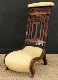 Rosewood Prie-dieu (Prayer Chair) - Gilboy's | Fall On ...