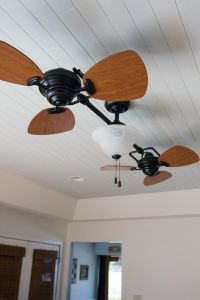 nice Ceiling Fan, installing wooden ceiling. Twin Breeze ...