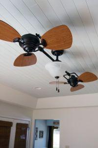 nice Ceiling Fan, installing wooden ceiling. Twin Breeze ...