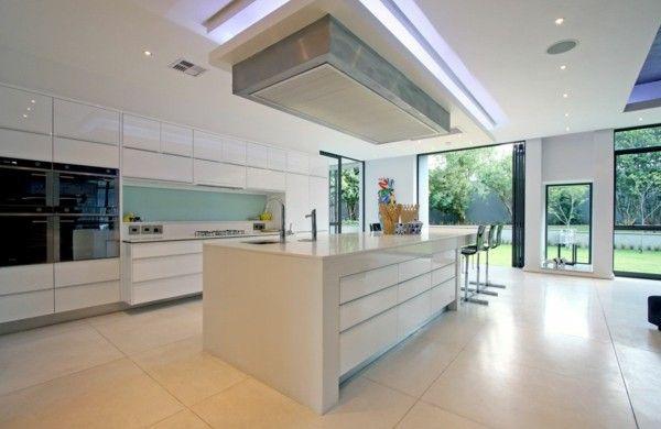 Kücheninsel gestalten deckenbeleuchtung modern küche kohnyak - moderne kuche gestalten