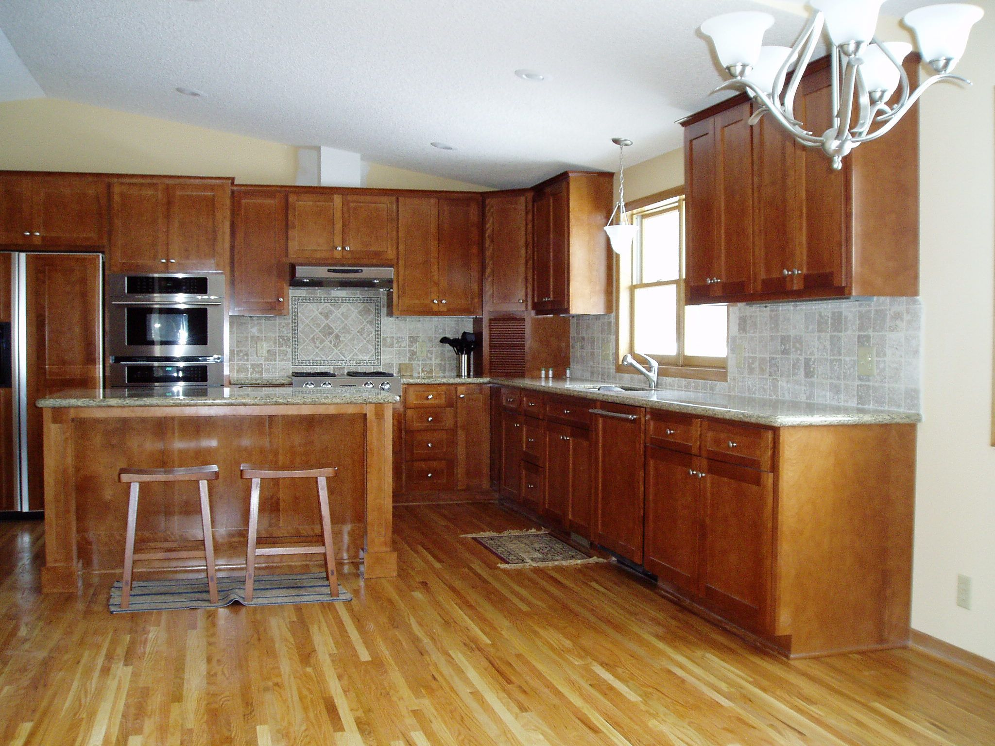 honey oak cabinets what color floor kitchen floor cabinets wood flooring that goes well with honey oak cabinets