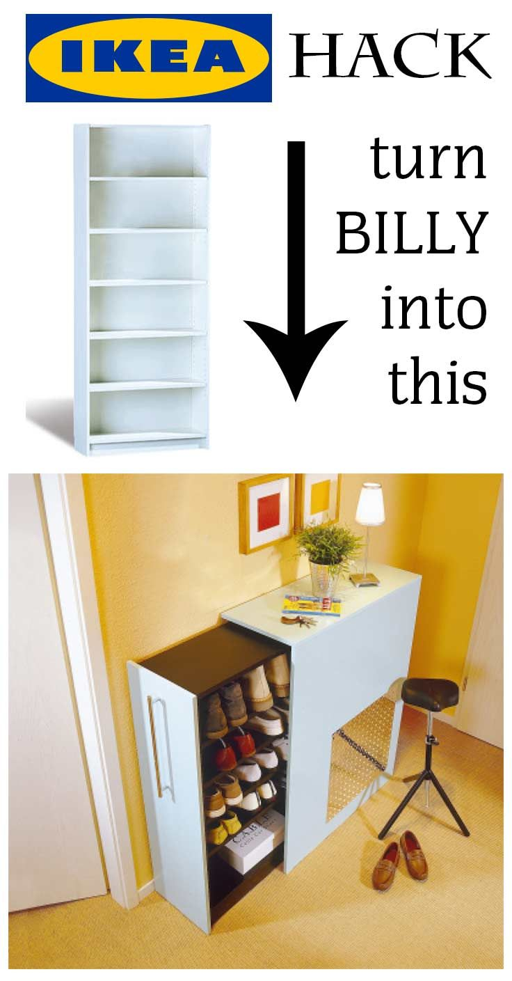 Billy Regal Schuhe Awesome Ikea Hack You Can Turn A Billy Shelf In An Extendable