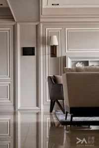 Contrast of two tone paneling
