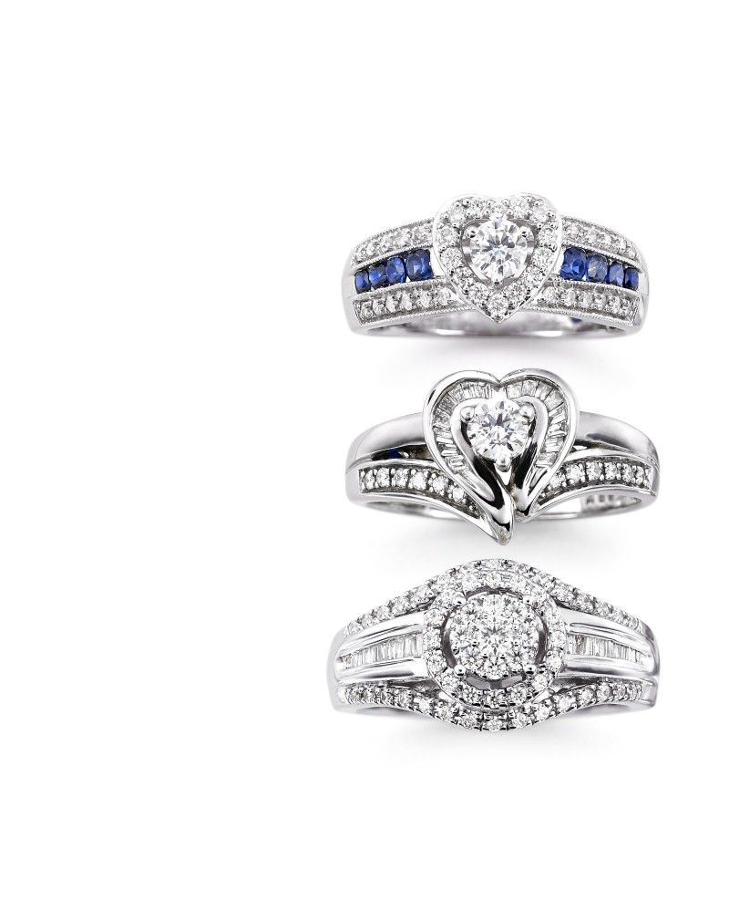 jcpenney jewelry wedding rings Want the ring with the Sapphires platinaire 3 8 ct t w diamond ring