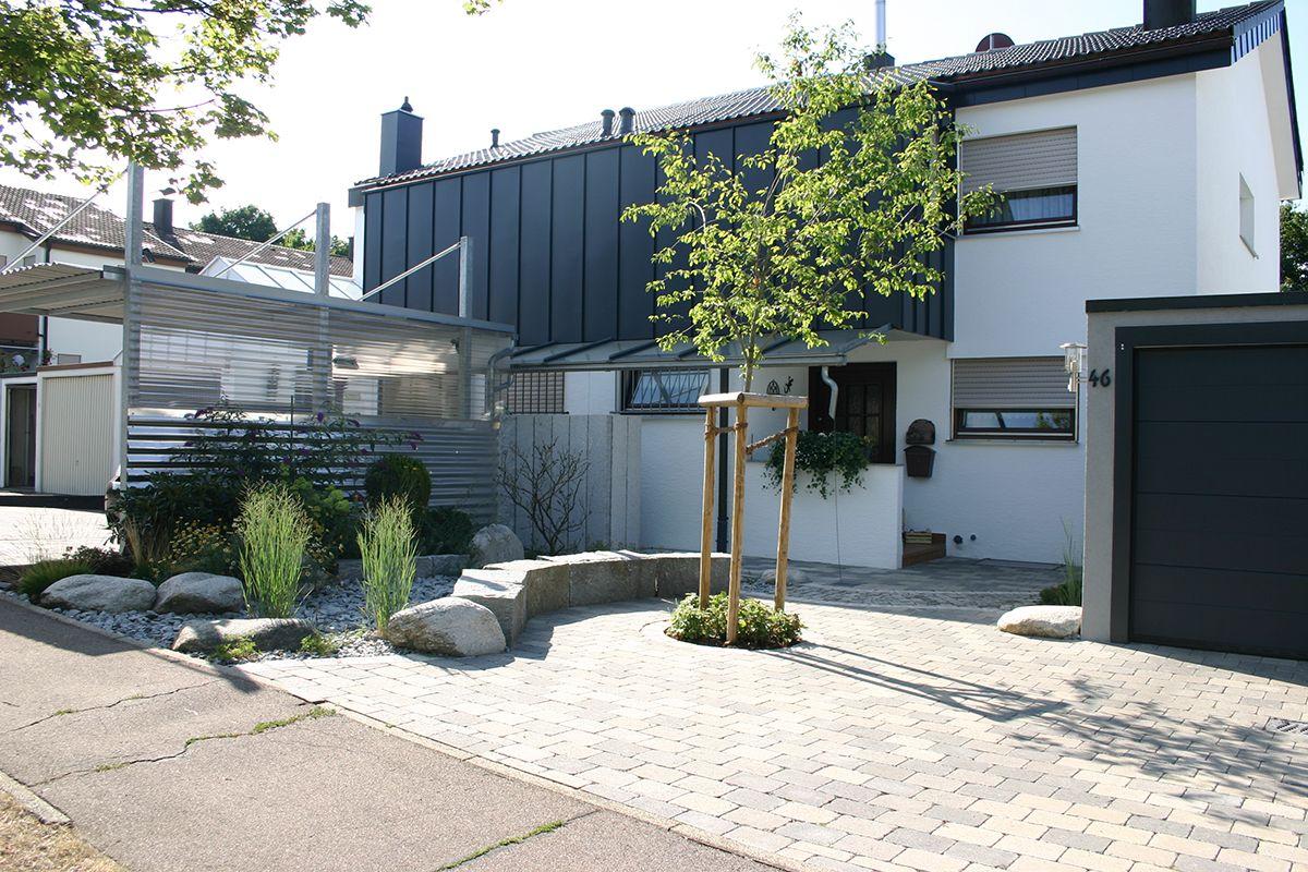 Moderne Gartenwege Tuin In Helmond Met Een Modern Ontwerp Het Rullen