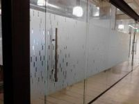 Office Window Frosted Glass Graphics for Corporate ...