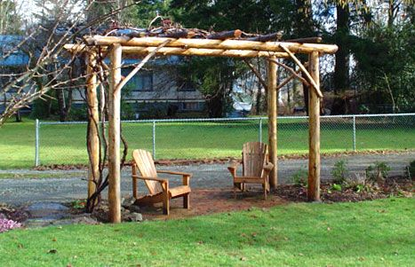 Iu0027ve been wanting a grape arbor to lead into the garden for a long - garden arbor plans designs