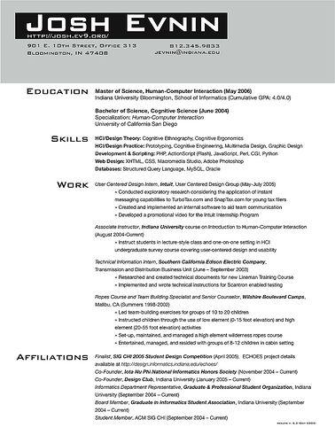 Graduate School Resume - http\/\/wwwresumecareerinfo\/graduate - graduate school resume