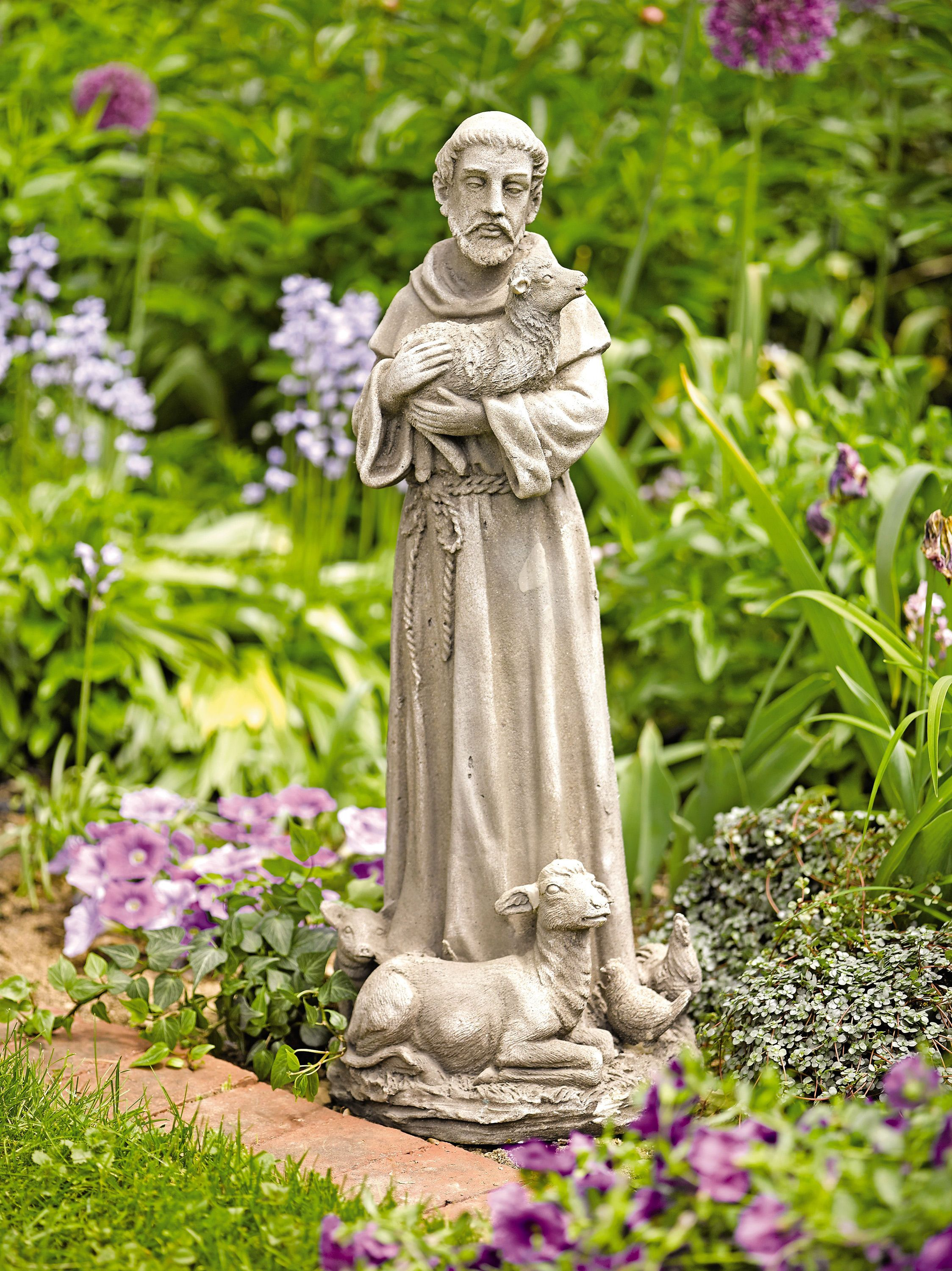 Statues For The Garden Garden Statues St Francis Of Assisi Gardener 39s Supply