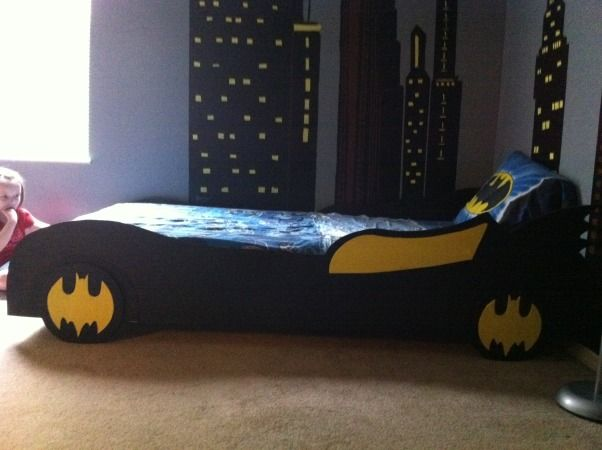 Batman Bedding And Bedroom Décor Ideas For Your Little Superheroes - batman bedroom ideas