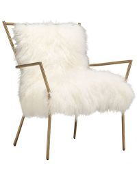 Glam Factor: Tibetan Fur Chair | Bobs, Armchairs and Tennessee
