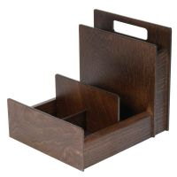 Wooden Condiment Holder with Cutlery Section H-CON301 ...